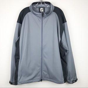 FootJoy FJ Men's XXL Full Zip Windbreaker Jacket